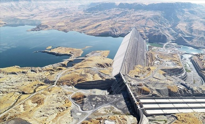 Ilısu Barajı'nda elektrik üretimine başlanıyor