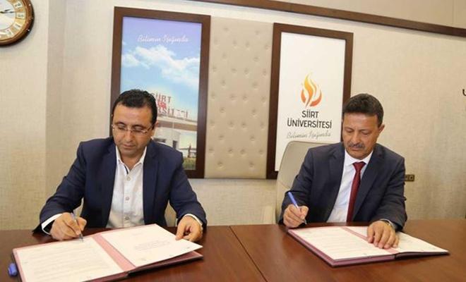 Siirt'te Üniversite ile Tarım ve Orman İl Müdürlüğü arasında protokol imzalandı