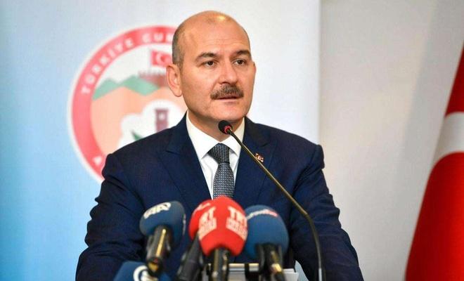 Bakan Soylu, Trabzon'dak sel ve heyelanlara ilişkin açıklama yaptı