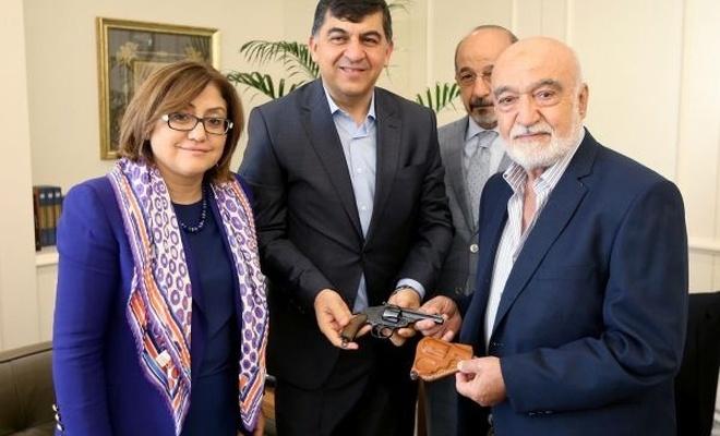 Gazilere ait eserler müzeye bağışlandı