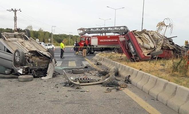 Bitlis'te feci kaza: 1 ölü, 4 yaralı