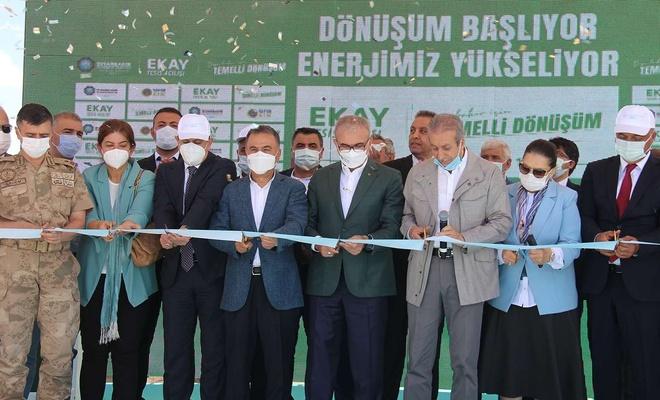 Diyarbakır'da çöpten elektrik üretecek tesisin açılışı yapıldı