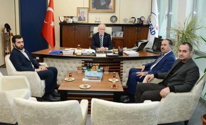 HÜDA PAR İstanbul İl Başkanlığından AFAD İl Müdürlüğüne ziyaret