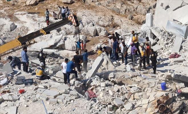 İdlib'de patlama: 11 ölü