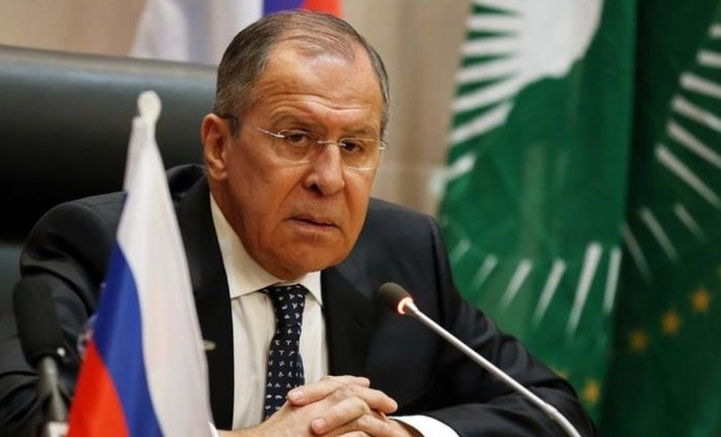 Lavrov, Hafter'in temsilcisi Salih ile görüştü