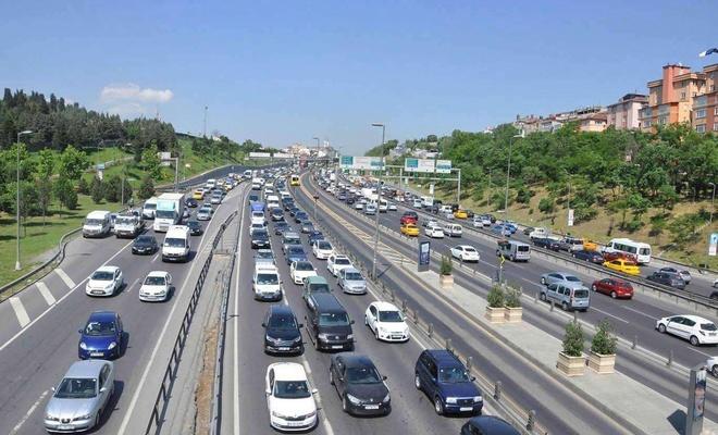 2020 yılında ne kadar taşıt trafiğe kaydedildi ?