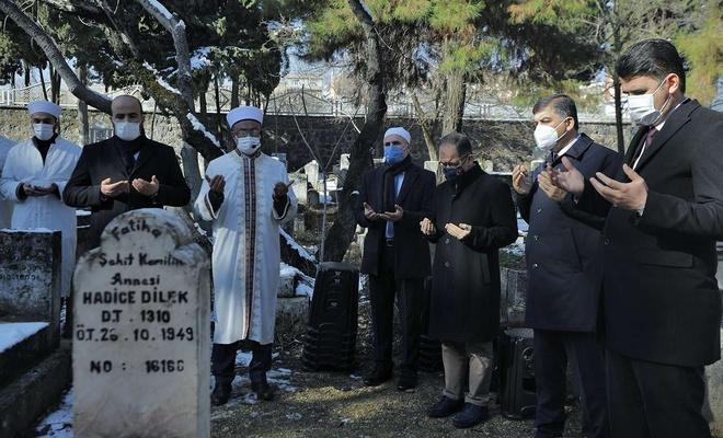 Şehid Mehmet Kamil ve annesi dualarla anıldı