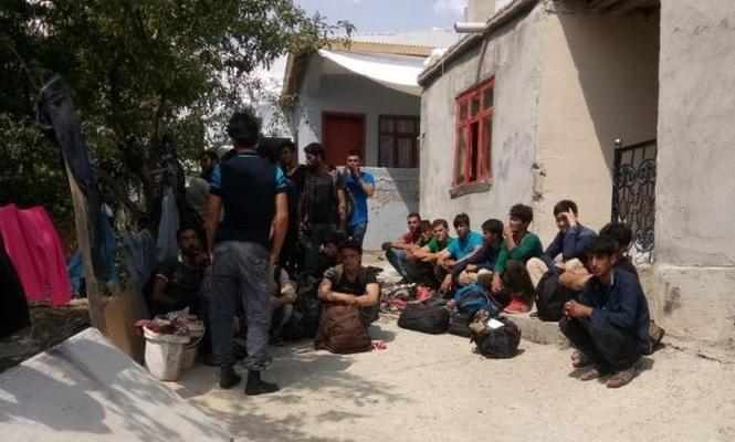 119 yabancı uyruklu kaçak yakalandı