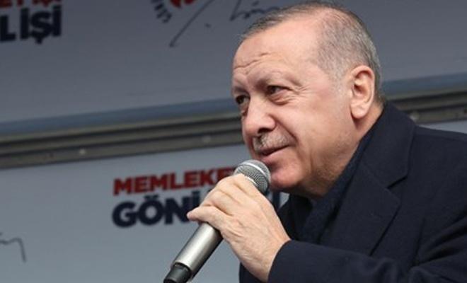 Erdoğan'dan Tanzim açıklaması