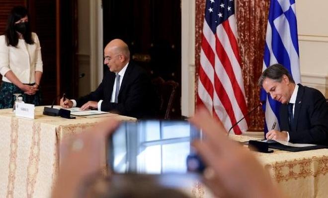 ABD ile Yunanistan arasındaki Savunma İşbirliği