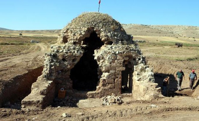Tokat'ta 820 yıllık mescitte restorasyon çalışmaları başladı