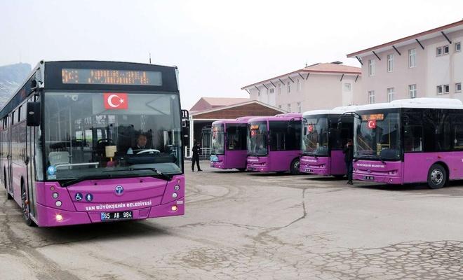 Van'da hafta sonu kısıtlaması nedeniyle toplu ulaşıma yeni mesai saatleri belirlendi