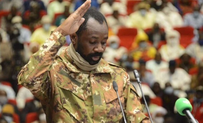 Mali'de darbe yapan Assimi Goita'nın cumhurbaşkanlığı onaylandı