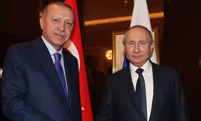 Erdoğan-Putin görüştü! İşte detaylar