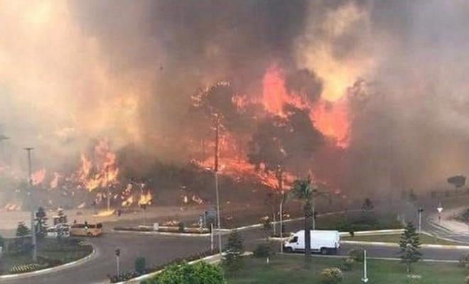 Türkiye'nin 'ciğerleri' yanıyor: 7 ilde 20 noktada orman yangını