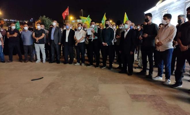 Antalya'da Filistin şehidleri için gıyabi cenaze namazı kılındı