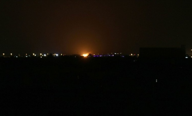İşgal rejimi Suriye'yi vurdu