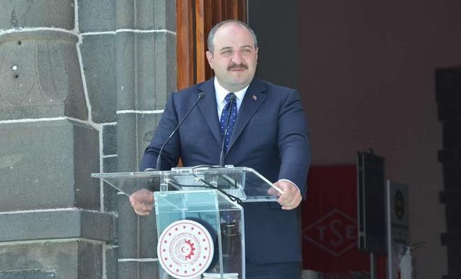 Sanayi ve Teknoloji Bakanı Varank Diyarbakır'da