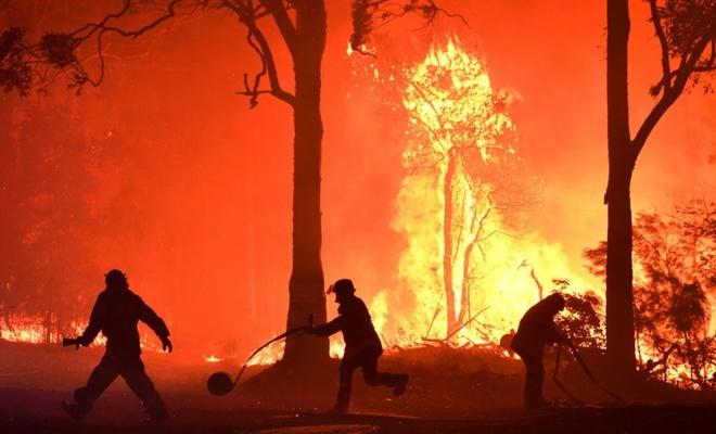 Avustralyalıların dörtte üçünden fazlasını yangın vurdu