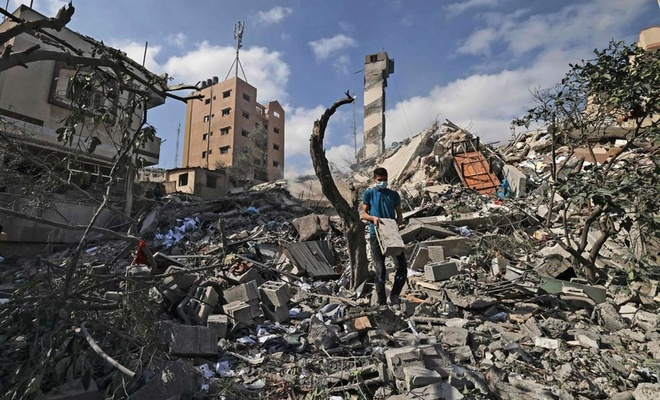 Qatar pledges $500,000 for Gaza reconstruction