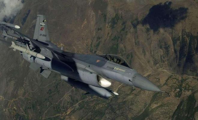Gara bölgesine düzenlenen hava harekâtında 2 PKK'li öldürüldü