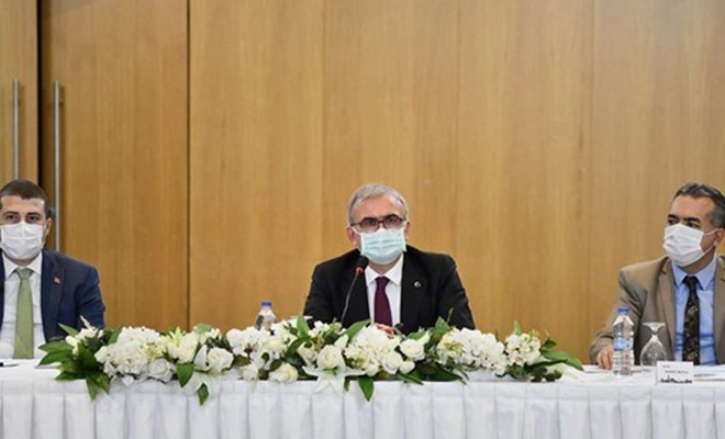 Diyarbakır'da sert kabuklu meyve yetiştiriciliği istişare toplantısı yapıldı