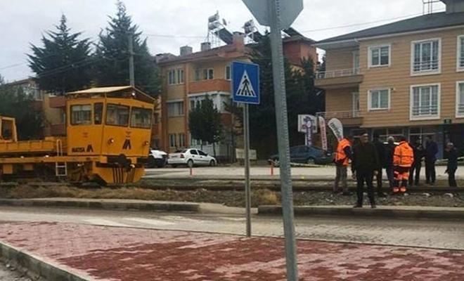 Burdur'da ray bakım aracının çarptığı kadın öldü