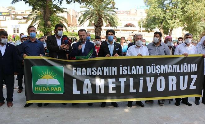 Şanlıurfa'da, Avrupa ve Fransa'daki İslam düşmanlığı lanetlendi