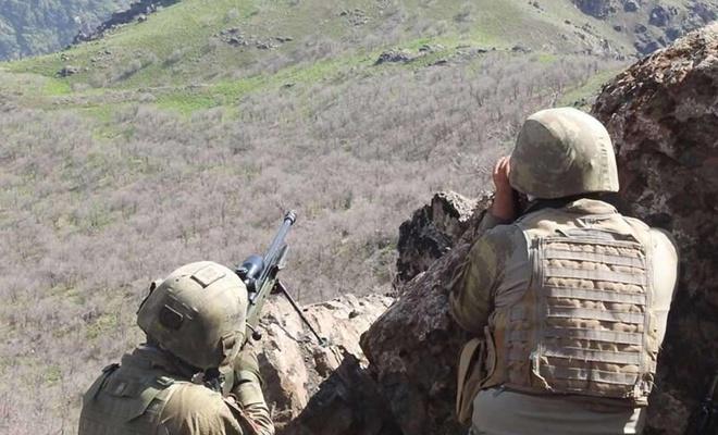 Tunceli'de PKK mensuplarının kullandığı 14 sığınak tespit edildi
