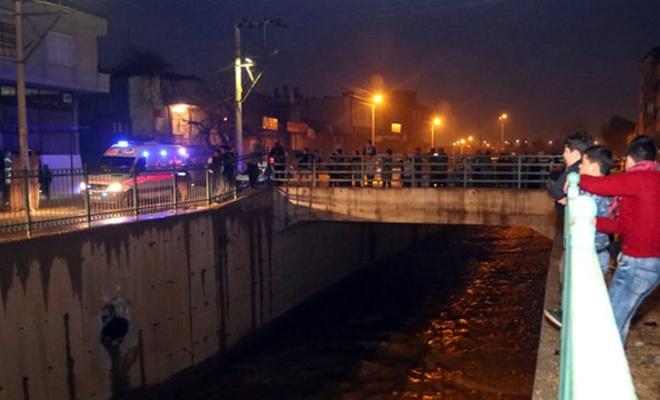 Kanala düşen kardeşlerden biri kayboldu, diğeri yaralı kurtarıldı