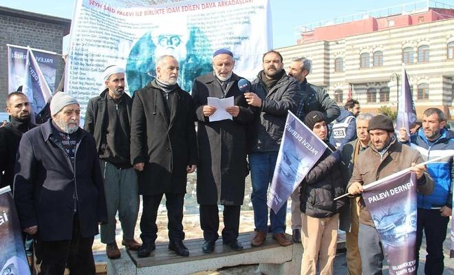 Palevi-Der Başkanı Mustafa Üngür: Şeyh Said'in davası haklı bir davaydı