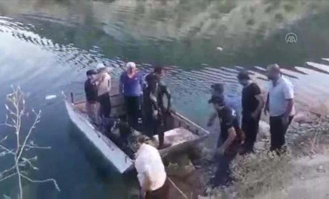 Balık tutmak isterken Fırat Nehri'ne düşen genç hayatını kaybetti