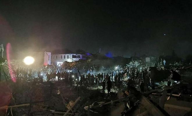 Ermenistan'ın Gence'ye yönelik saldırısında 12 sivil hayatını kaybetti