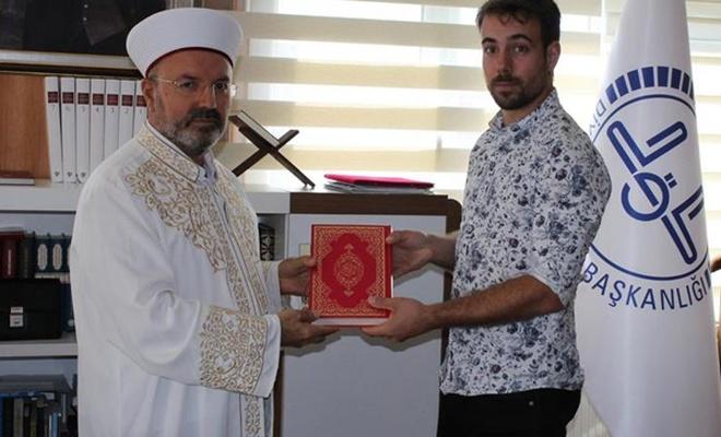 Fransız genç Müslüman oldu