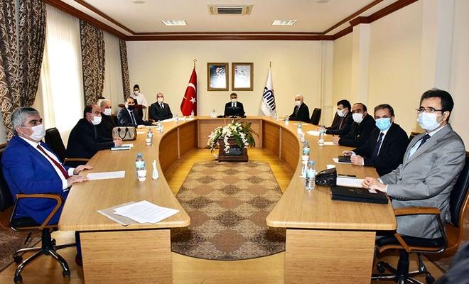 """Malatya'da """"İstihdam ve Mesleki Eğitim Kurulu"""" toplantısı gerçekleştirildi"""