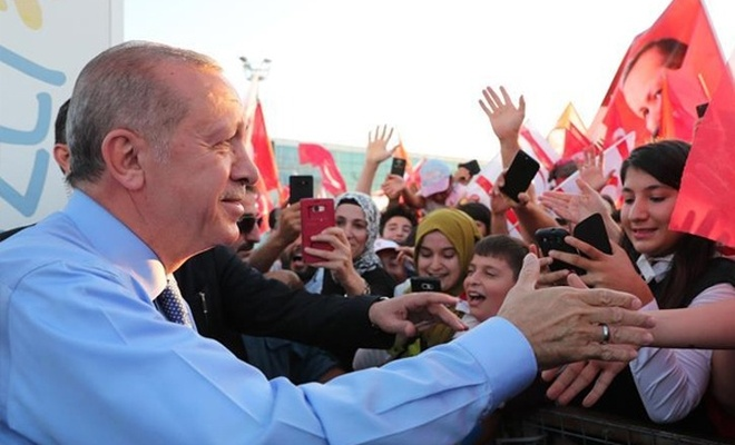 Türkiye Cumhurbaşkanı Erdoğan, KKTC`de