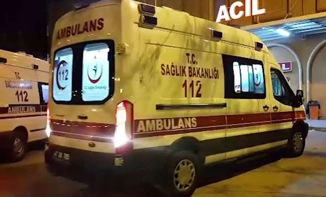Yozgat'ta yolcu otobüsü devrildi!