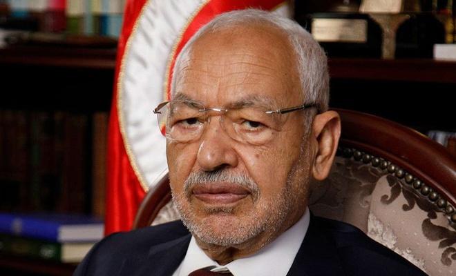 Tunus Meclis Başkanı Gannuşi: Cumhurbaşkanı Said'in kararları bir darbedir