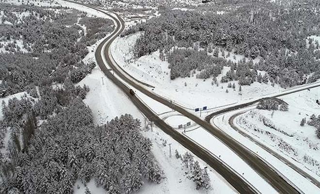 Konya ve Karaman için kuvvetli kar uyarısı!
