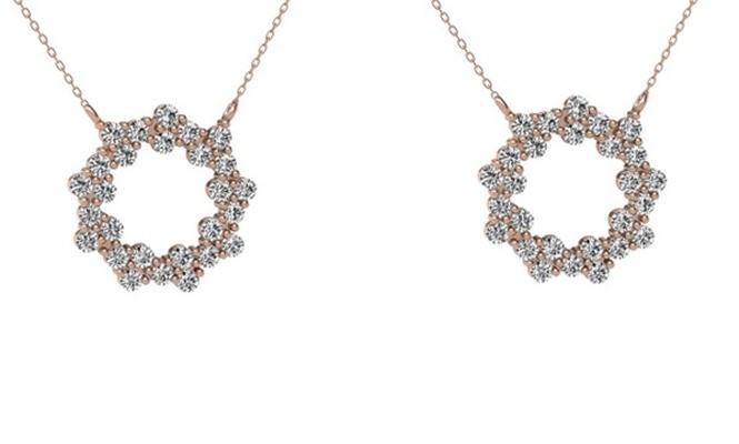 Birbirinden Zarif 2018 Gümüş Kolye Modelleri Mortakı`da