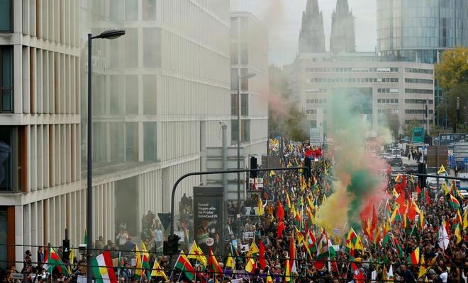 Altı ülkede  Operasyon karşıtı protestolar