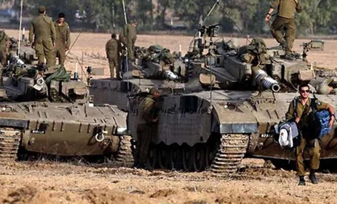 حمله زمینی رژیم صهیونیستی به غزه با 7 هزار سرباز