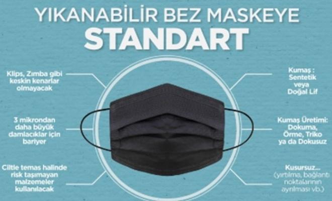 Bez maskeye standart getirildi