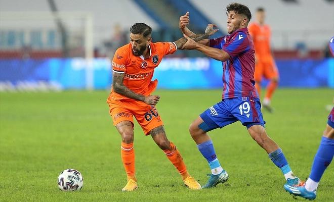 Başakşehir, Trabzonspor'u maçı sona erdi