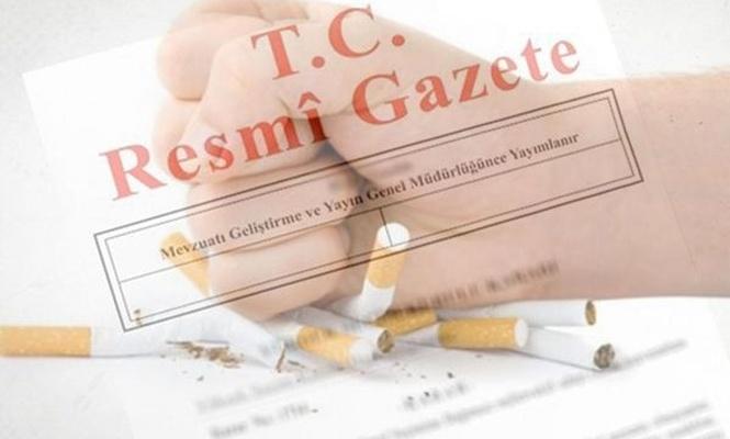 Bırakmada ilaç desteği Resmi Gazete`de