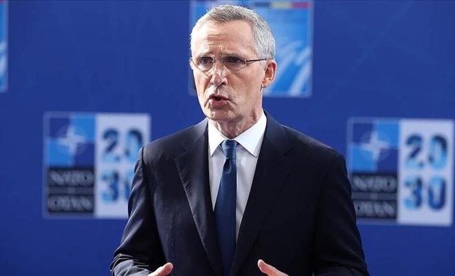 NATO Genel Sekreteri Jens Stoltenberg açıklamalarda bulundu