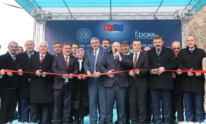 Türkiye'nin üreten ilk İŞGEM'i açıldı