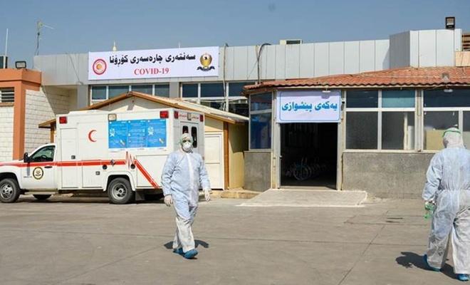 Kürdistan Bölgesi'nde Covid-19'da 566 yeni vaka