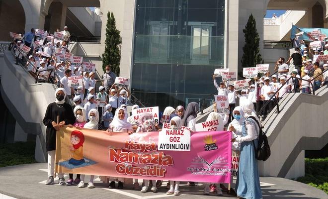 """Çamlıca Camii'nde """"Hayat Namazla Güzeldir"""" etkinliği düzenlendi"""