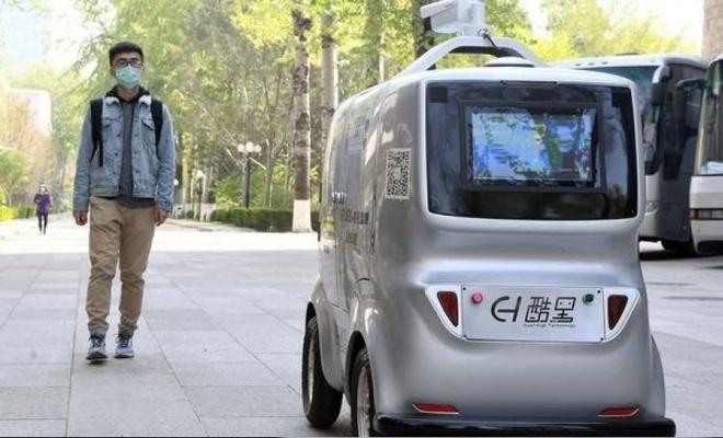 Sürücüsüz araçlar Pekin yollarında